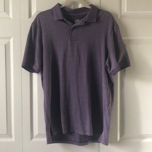 Men's Purple Polo Cooling Material Size Large